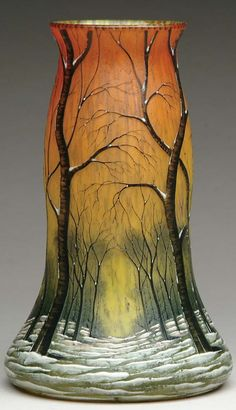 Daum Nancy vase