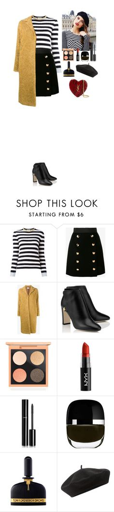 """""""Flight to Paris"""" by eliza-redkina on Polyvore featuring мода, Gucci, Dolce&Gabbana, Maryam Nassir Zadeh, MAC Cosmetics, Chanel, Tom Ford, Accessorize, Yves Saint Laurent и StreetStyle"""