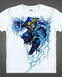 Drow Ranger white t shirt for men dota 2 game shirts short ...