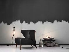 Sessel-Deko-schwarz