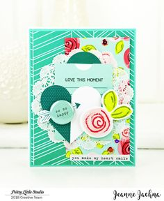 A Kept Life: Pretty Little Studio - So SO HAPPY! #prettylittlestudio #XOXO #LOVE #Card #cardmaking #papercrafting #heart