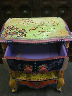 Hand Painted Furniture | Flickr - Photo Sharing!