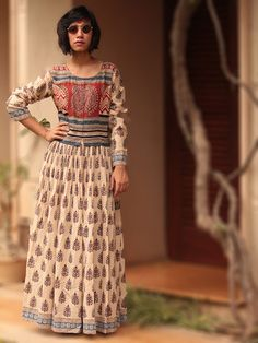Cotton Peshwaz Dress