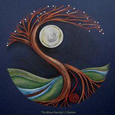 moom Mandala Art | The Moon-Tree 2 – Second Generation | Dancing Moon Designs