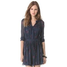 Band Of Outsiders - Dress - Navy - 70% DISCOUNT