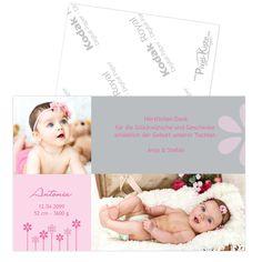 bezaubernde Geburtsanzeige online bestellen  #Geburtsanzeigen #Geburtskarten #Baby