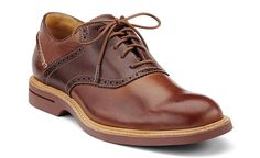 9dec49c74 Sperry Top-Sider - Brown Gold Oxford Saddle Shoes for Men - Lyst