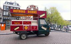 Op de Prinsengracht in Amsterdam..