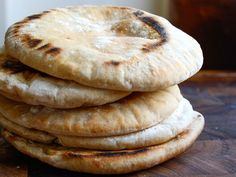This Pita Bread Recipe Serious Eats is a better for your dessert made with wholesome ingredients! Dairy, Gluten Free, g. Serious Eats, Bread Recipes, Baking Recipes, Ma Baker, Homemade Pita Bread, Instant Yeast, Middle Eastern Recipes, Ciabatta, Bread Rolls