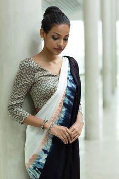 Silk Wave Saree from FashionMarket.lk