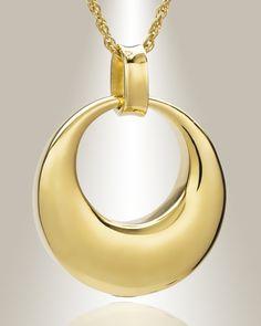gold vermeil timeless pendant