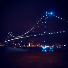 Hercilio Luz bridge - Florianopolis- SC- Brazil
