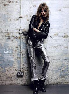 Vogue Brazil Editorial March 2011 - Freja Beha Erichsen by Patrick Demarchelier
