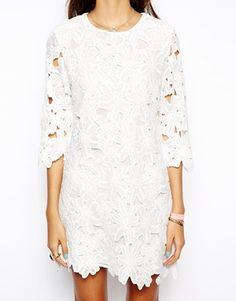 lace dress / asos
