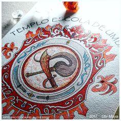 Brasão quase pronto! Arte encomendada, destino: Dourados-MS. >>Encomendas/orçamentos: notovic@gmail.com