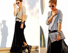 My colors and style.  http://blocknotesfashion.blogspot.com/2012/04/long-skirt.html