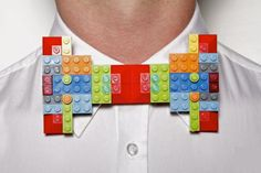 Nicholas Ruiz creates bow ties from recycled objects for the MoMA