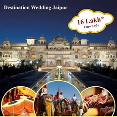 This fascinating city with its romantic charm and glamour takes you to an epoch of royalty and tradition. Imagine exchanging vows with your true love on your wedding day, dressed like a prince and princess against a palatial backdrop,the presence of elephant and camel processions including Puppet Shows, dancers and musicians