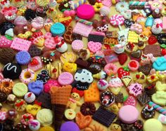 Cookies,Wafers,Flatback Embellishments READ LISTING New Assorted Cabochons Cake