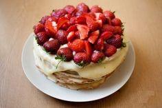 Фото к рецепту: Торт творожный на сковороде