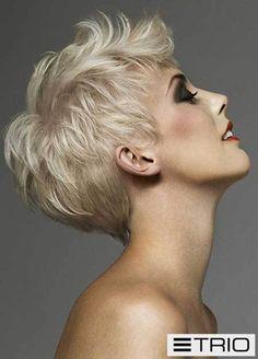 pixie cut, pixie haircut, cropped pixie - pixie haircut for fine hair Haircuts For Fine Hair, Pixie Hairstyles, Pretty Hairstyles, Blonde Hairstyles, Pixie Haircuts, Hairstyles 2016, Medium Hairstyles, Sassy Hair, Short Blonde