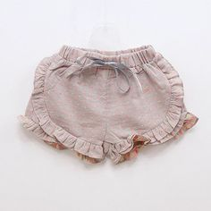 ruffle shorts - dress down style