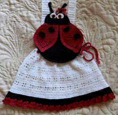 Baby Girl Crochet Pinafore Dress Topper Pattern by SugarToeBabies, $4.00