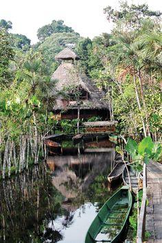 #PinUpLive - Sacha Lodge in Ecuadorian Amazon.  Want to go? » YES