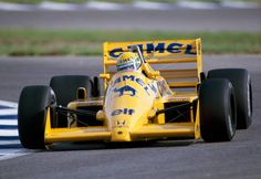 Ayrton Senna of Brazil enroute to fifth place driving a Lotus 99T with a Honda RA66E 15 V6t engine for Camel Team Lotus Honda during the Spanish...