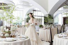 グランシェール葉山庵(Grandciar葉山庵)|結婚式場写真「会場の装飾・レイアウトはお二人のウエディングイメージで変えられます。」 【みんなのウェディング】