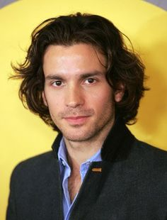 Santiago Cabrera. I like him. He's Chilean - but I don't really want to Chile. I'll invite him here.