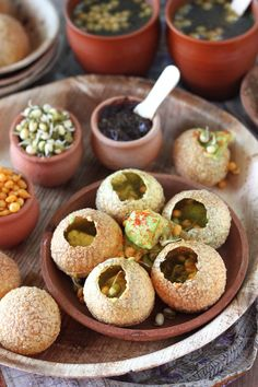 Avocado Pani Puri ...Perferct for your Diwali Party!!!