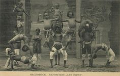 human zoos at the turn of the 20th century