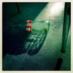 Coca-Cola bottle on the porch, Baptist Town neighborhood of Greenwood, Mississippi on October 22, 2013. #baptisttown #cocacola #classiccoke ...