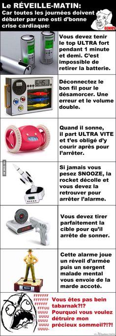 6 Réveille-Matins BOSS – Québec Meme +
