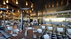8 of the world's best airport restaurants Restaurant Bar, Restaurant Design, Airport Restaurants, Bar Design, Le Chef, Architecture, Dining, Interior Design, Table
