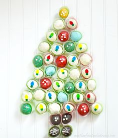 OREO Cookie Balls Retro Christmas Tree