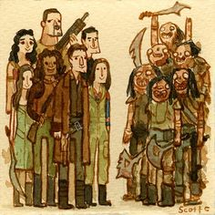Serenity by Scott Campbell the simple smiles standing next to revers just makes me laugh