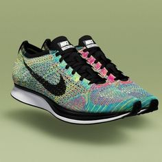Nike Introduces Flyknit Racer and HTM Flyknit Trainer+ Exclusively in Europe Nike Outlet, Nike Air Max, Nike Free Shoes, Running Shoes Nike, Jogging Shoes, Flyknit Racer Multicolor, Flyknit Trainer, Nike Flyknit Racer, Baskets