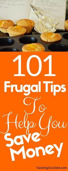 Looking for ways to save money, live frugally, and ensure you stay out of debt? Here are 101 frugal tips that will surprise you by showing you how easy frugal living really is. You will find money saving ideas that you never thought of, and ways to manage your personal finances so that you ALWAYS have enough money. Click thru for more information!