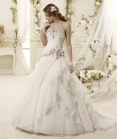 Editor's Pick: 2015 Colet Collection of Nicole Spose Wedding Dresses: http://www.modwedding.com/2014/10/04/editors-pick-2015-colet-collection-nicole-spose-wedding-dresses/ #wedding #weddings #wedding_dress