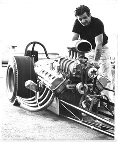 """The Greek"", Chris Karmesines at York US 30 - 1962"