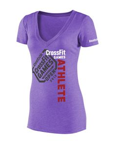 CrossFit HQ Store- Her Always An Athlete Tee - Open - Games Gear Buy Authentic CrossFit T-Shirts, CrossFit Gear, Accessories and Clothing