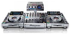 Pioneer Platinum Limited Edition CDJ, DJM and RMX