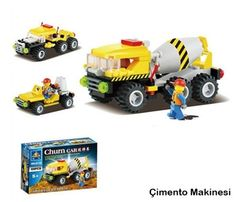 İş Makineleri Lego Seti