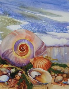 Moon Snail   by Nancy Wernersbach