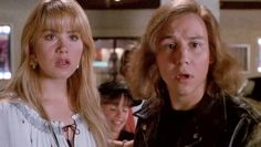 """Keith Coogan with Christina Applegate in """"Don't Tell Mom the Babysitter's dead"""""""