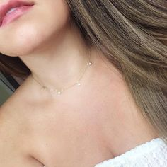 Gold Choker Necklace - dainty choker/ delicate choker/ thin choker/ dainty gold necklace/ layering choker/ trendy choker/ gifts for her - Fine Jewelry Ideas Dainty Gold Necklace, Silver Choker, Dainty Jewelry, Diamond Necklaces, Silver Ring, Gold Necklaces, Silver Earrings, Diamond Jewelry, Earrings Uk