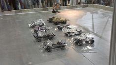 Glass Car Demolition Derby about to begin