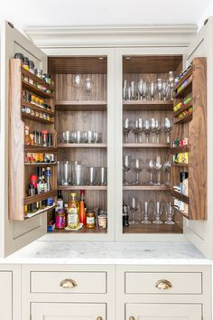If you like being organised, you should look into purchasing this bespoke cupboard!